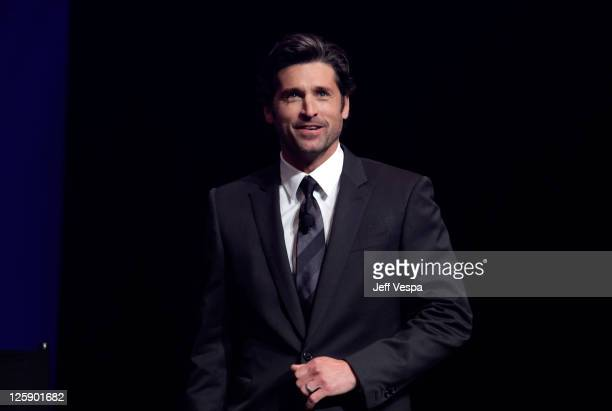 Actor Patrick Dempsey attends AVON 125th Celebration Global Believe Tour at Gibson Amphitheatre on February 9 2011 in Universal City California