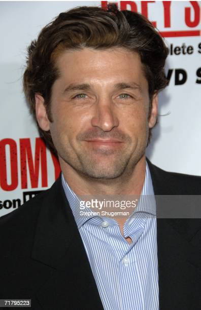 Actor Patrick Dempsey attends 'Grey's Anatomy' Season 2 DVD Launch at Social Hollywood on September 5 2006 in Hollywood California