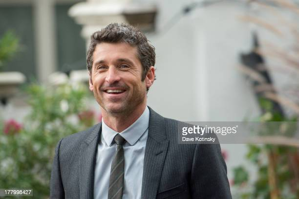 Actor Patrick Dempsey attends Moves' 2013 Fall Fashion Issue Cover Party on August 26 2013 in New York City