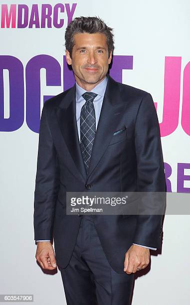 Actor Patrick Dempsey attends the 'Bridget Jones' Baby' New York premiere at The Paris Theatre on September 12 2016 in New York City