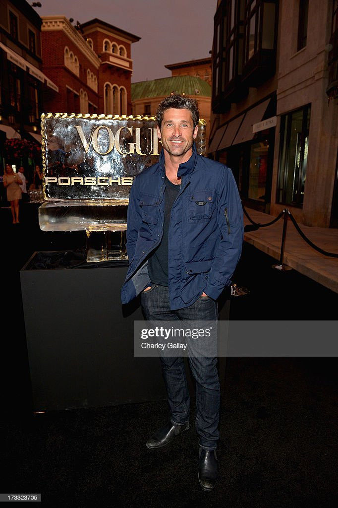 Actor Patrick Dempsey attends the Porsche Design and Vogue re-opening event at Porsche Design Beverly Hills on July 11, 2013 in Beverly Hills, California.