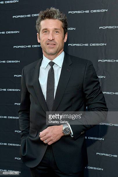 Actor Patrick Dempsey attends the Porsche Design Celebrates Festival of Watches on September 14 2014 in Beverly Hills California