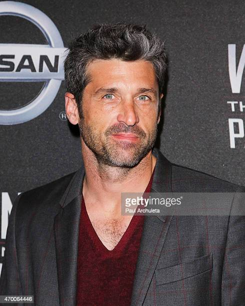 Actor Patrick Dempsey attends the screening of 'WINNING The Racing Life Of Paul Newman' at the El Capitan Theatre on April 16 2015 in Hollywood...