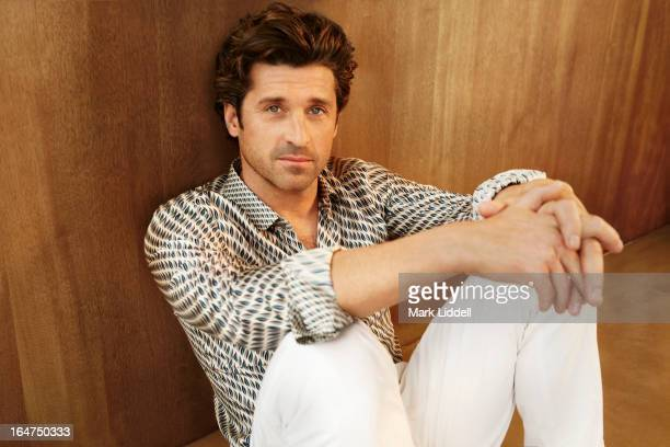 Actor Patrick Dempsey is photographed for GQ Italy on January 27 2013 in Los Angeles California PUBLISHED IMAGE