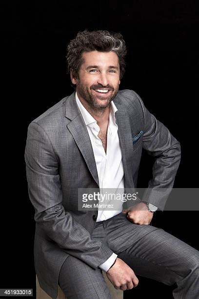 Actor Patrick Dempsey is photographed for Indianapolis Monthly on June 1 2012 in Indianapolis Indiana