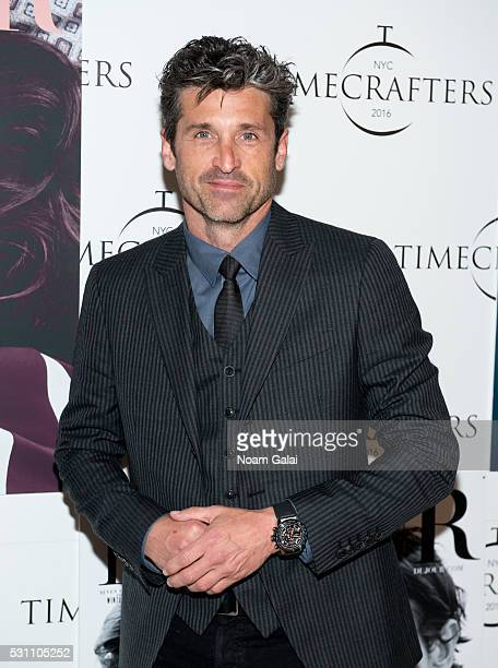 Actor Patrick Demsey attends Timecrafters opening night at Park Avenue Armory on May 12 2016 in New York City