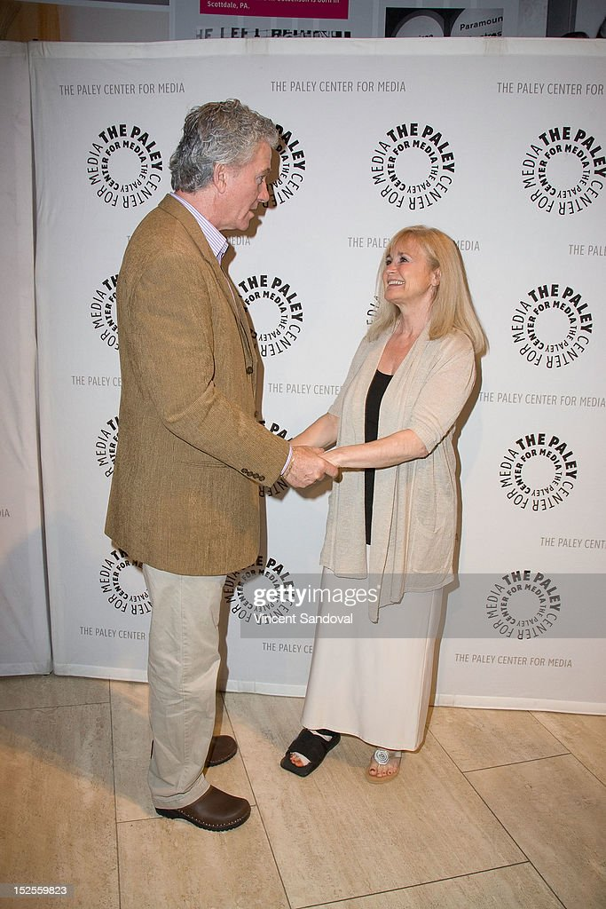 Actor <a gi-track='captionPersonalityLinkClicked' href=/galleries/search?phrase=Patrick+Duffy+-+Actor&family=editorial&specificpeople=224536 ng-click='$event.stopPropagation()'>Patrick Duffy</a> and actress Belinda Montgomery attend The Paley Center For Media Presents 'The Man From Atlantis' Screening And Conversation With <a gi-track='captionPersonalityLinkClicked' href=/galleries/search?phrase=Patrick+Duffy+-+Actor&family=editorial&specificpeople=224536 ng-click='$event.stopPropagation()'>Patrick Duffy</a> at The Paley Center for Media on September 21, 2012 in Beverly Hills, California.