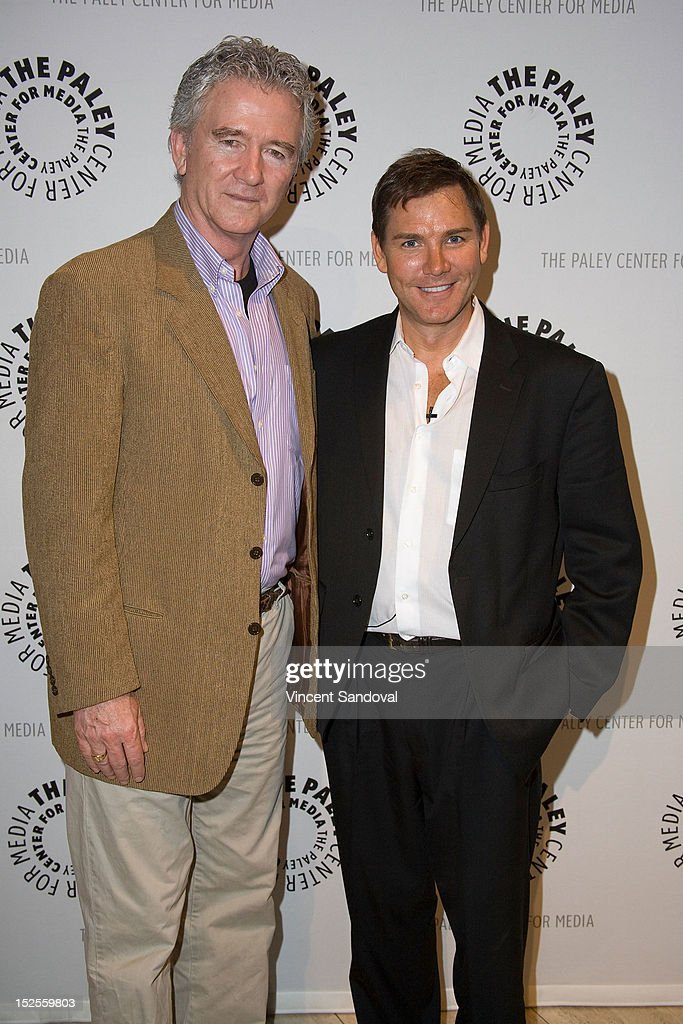 Actor <a gi-track='captionPersonalityLinkClicked' href=/galleries/search?phrase=Patrick+Duffy+-+Actor&family=editorial&specificpeople=224536 ng-click='$event.stopPropagation()'>Patrick Duffy</a> and TV Guide Magazine columnist William Keck attend The Paley Center For Media Presents 'The Man From Atlantis' Screening And Conversation With <a gi-track='captionPersonalityLinkClicked' href=/galleries/search?phrase=Patrick+Duffy+-+Actor&family=editorial&specificpeople=224536 ng-click='$event.stopPropagation()'>Patrick Duffy</a> at The Paley Center for Media on September 21, 2012 in Beverly Hills, California.