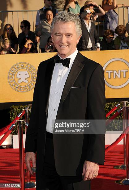 Actor Patrick Duffy arrives at the 18th Annual Screen Actors Guild Awards at The Shrine Auditorium on January 29 2012 in Los Angeles California
