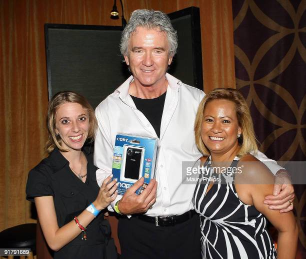 Actor Patrick Duffy poses in the Daytime Emmy official gift lounge produced by On 3 Productions held at The Orpheum Theatre on August 29 2009 in Los...