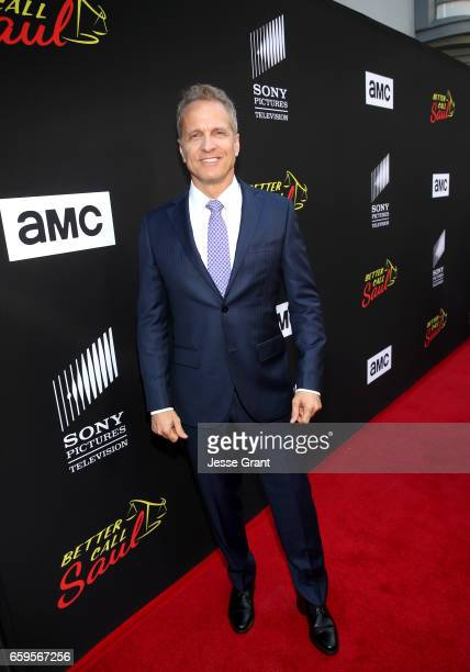 Actor Patrick Fabian attends AMC's 'Better Call Saul' season 3 premiere at ArcLight Cinemas on March 28 2017 in Culver City California