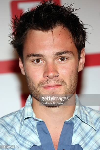 Actor Patrick Flueger arrives at the 4th annual TV Guide after party celebrating Emmys 2006 held at Social Hollywood on August 27 2006 in Hollywood...