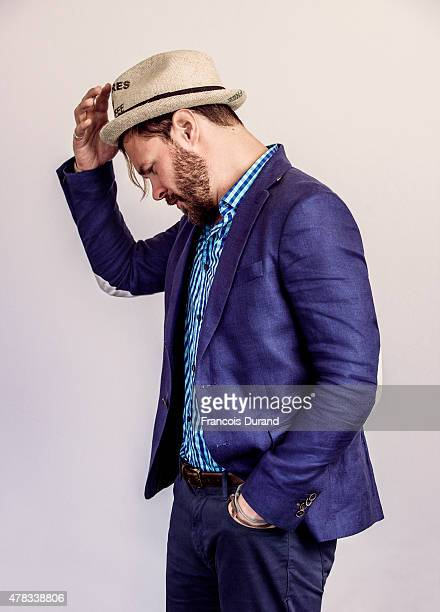 Actor Patrick Flueger poses for a portrait at the 55th Monte Carlo TV Festival at the Fairmont MonteCarlo on June 15 2015 in MonteCarlo Monaco