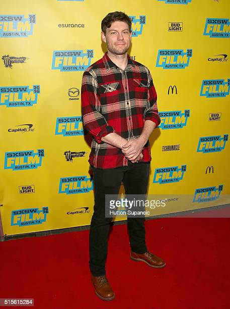 Actor Patrick Fugit attends the premiere of 'Outcast' during the 2016 SXSW Music Film Interactive Festival at Vimeo on March 14 2016 in Austin Texas