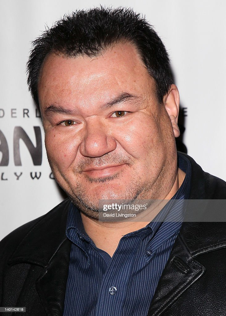 Actor Patrick Gallagher attends the opening night of 'Monty Python's Spamalot' at the Pantages Theatre on February 28, 2012 in Hollywood, California.