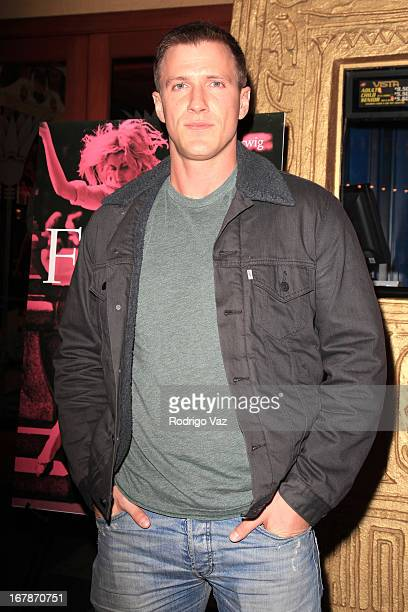 Actor Patrick Heusinger arrives at the 'Frances Ha' Special Screening at the Vista Theatre on May 1 2013 in Los Angeles California