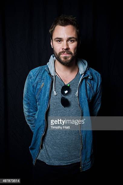 Actor Patrick John Flueger of Chicago PD poses for a portrait on November 9 2015 in Chicago Illinois