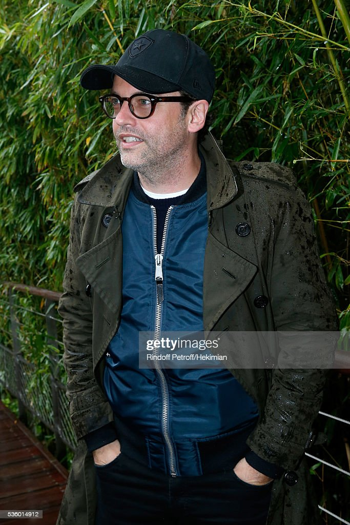 Actor Patrick Mille attends Day Ten of the 2016 French Tennis Open at Roland Garros on May 31, 2016 in Paris, France.