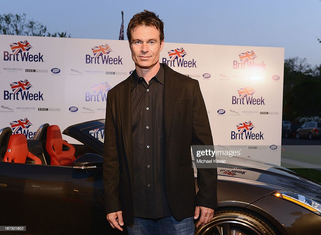 Actor Patrick Muldoon attends the BritWeek Los Angeles Red Carpet Launch Party with Official Vehicle Sponsor Jaguar on April 23, 2013 in Los Angeles, California.