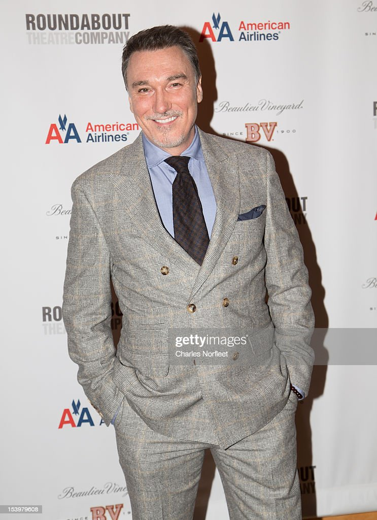 Actor Patrick Page attends 'Cyrano De Bergerac' Broadway Opening Night After Party at American Airlines Theatre on October 11, 2012 in New York City.