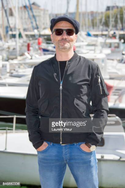 Actor Patrick Ridremont attends 'La Foret' Photocall during 19th Festival Of TV Fiction on September 14 2017 in La Rochelle France
