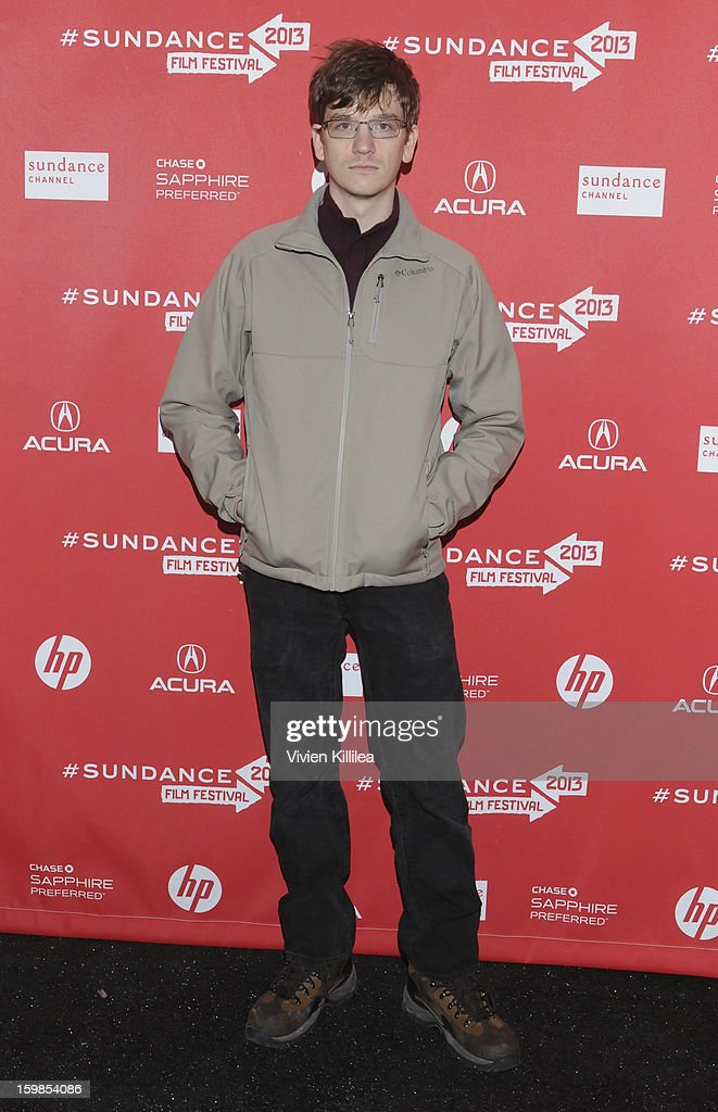 Actor Patrick Riester attends 'Computer Chess' Premiere - 2013 Sundance Film Festival at Library Center Theater on January 21, 2013 in Park City, Utah.