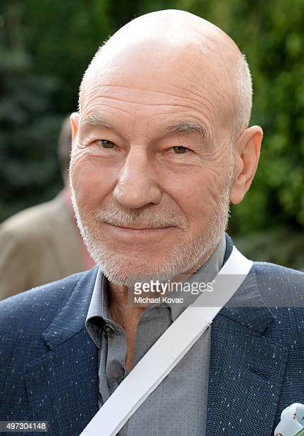 Actor Patrick Stewart attends Brunch With Sir Ian McKellan Hosted By British ConsulateGeneral at British Consul General's Residence on November 15...
