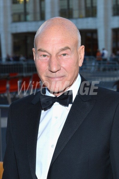 Actor Patrick Stewart attends the...