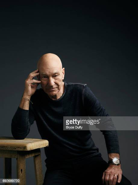 Actor Patrick Stewart is photographed for Variety on April 7 in Los Angeles California