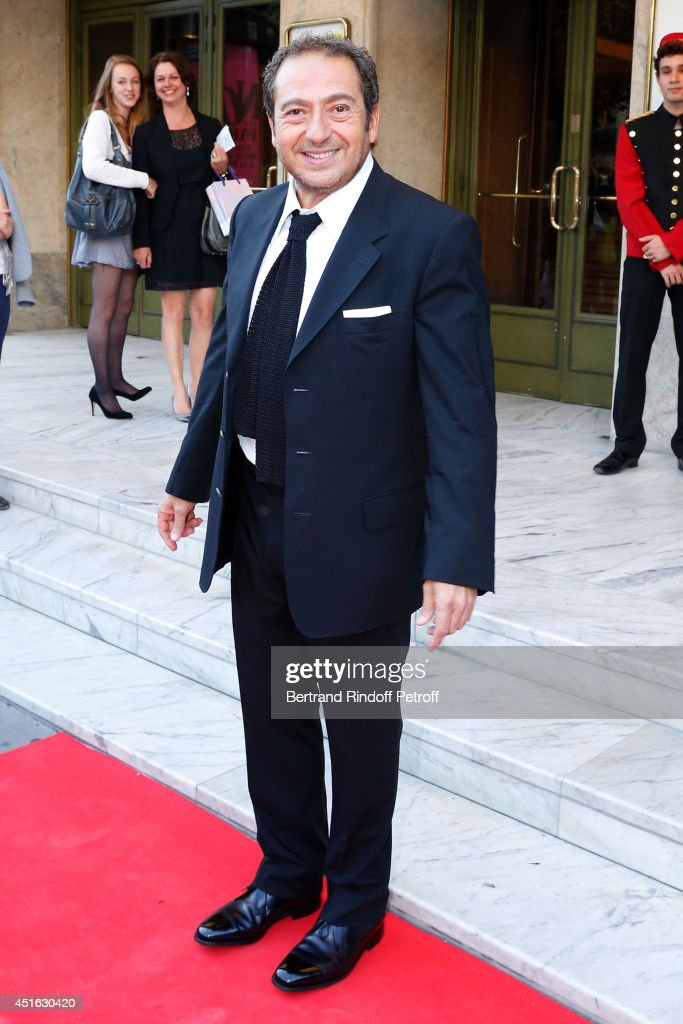 Actor <a gi-track='captionPersonalityLinkClicked' href=/galleries/search?phrase=Patrick+Timsit&family=editorial&specificpeople=626802 ng-click='$event.stopPropagation()'>Patrick Timsit</a> attends the '20th Amnesty International France' : Gala 'Music against oblivion'. Held at Theatre des Champs-Elysees on July 2, 2014 in Paris, France.