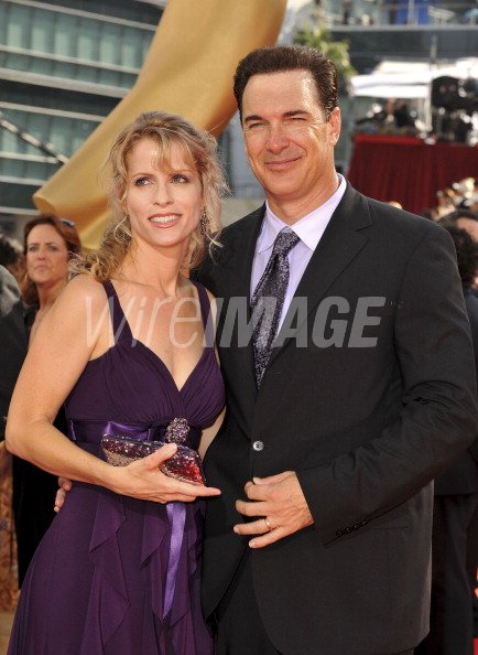 Actor Patrick Warburton and wife Cathy Jennings at the ...