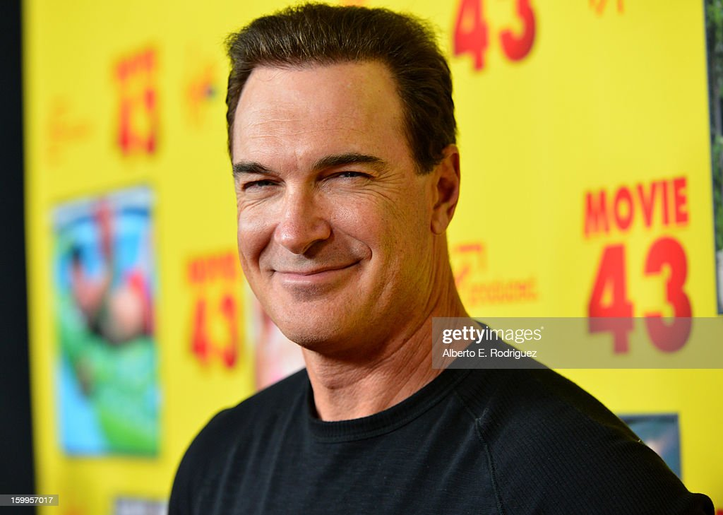 Actor <a gi-track='captionPersonalityLinkClicked' href=/galleries/search?phrase=Patrick+Warburton&family=editorial&specificpeople=228029 ng-click='$event.stopPropagation()'>Patrick Warburton</a> attends Relativity Media's 'Movie 43' Los Angeles Premiere held at the TCL Chinese Theatre on January 23, 2013 in Hollywood, California.