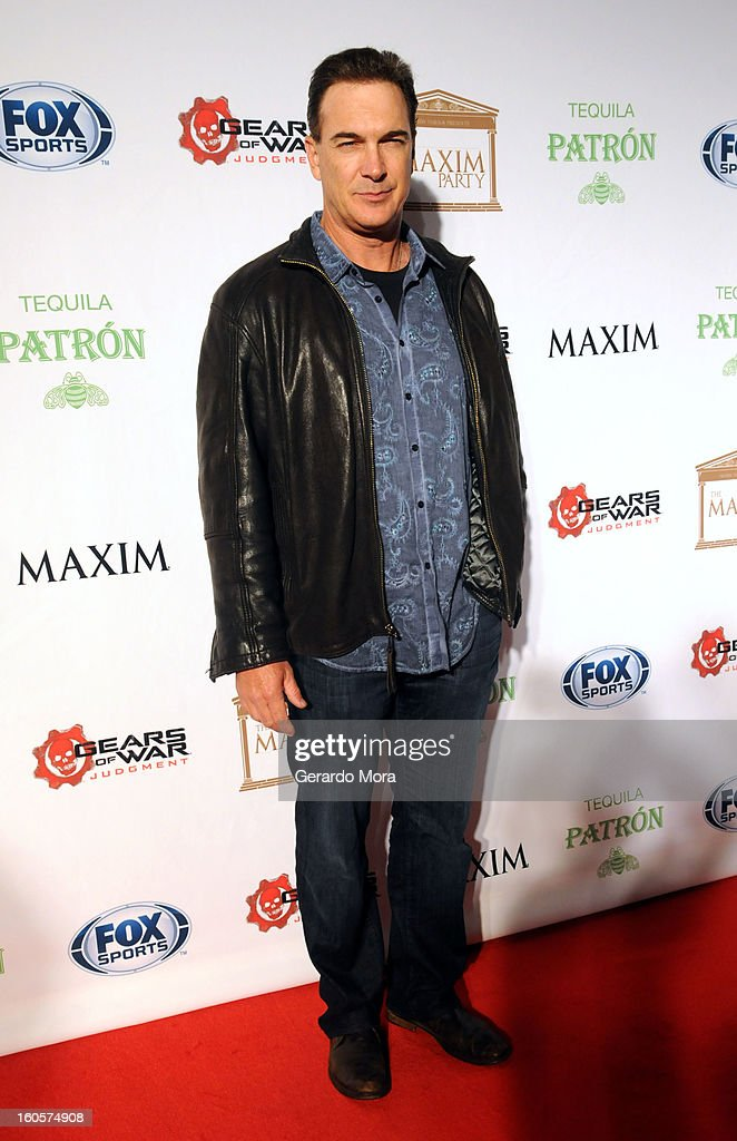 Actor <a gi-track='captionPersonalityLinkClicked' href=/galleries/search?phrase=Patrick+Warburton&family=editorial&specificpeople=228029 ng-click='$event.stopPropagation()'>Patrick Warburton</a> attends The Maxim Party With 'Gears of War: Judgment' For XBOX 360, FOX Sports & Starter Presented by Patron Tequila at Second Line Warehouse on February 1, 2013 in New Orleans, Louisiana.