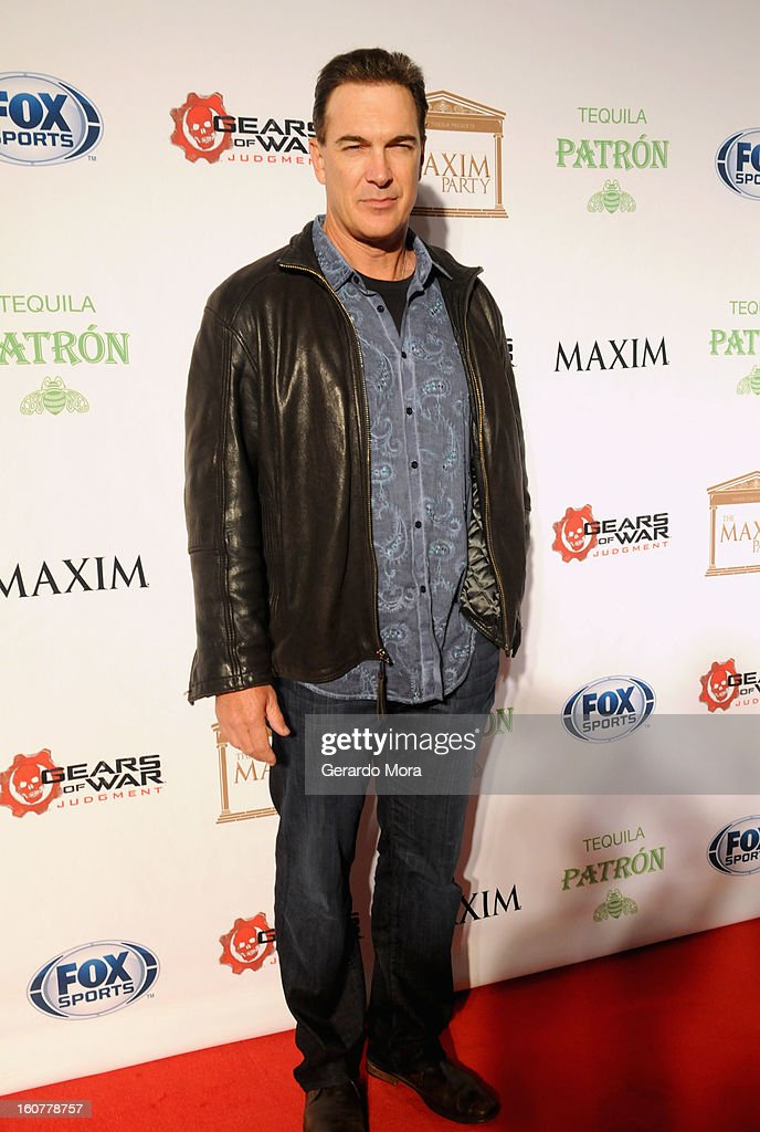 Actor Patrick Warburton attends The Maxim Party With 'Gears of War: Judgment' For XBOX 360, FOX Sports & Starter Presented by Patron Tequila at Second Line Warehouse on February 1, 2013 in New Orleans, Louisiana.