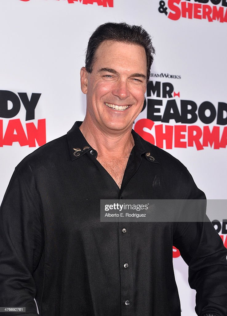 Actor Patrick Warburton attends the premiere of Twentieth Century Fox and DreamWorks Animation's 'Mr Peabody Sherman' at Regency Village Theatre on...