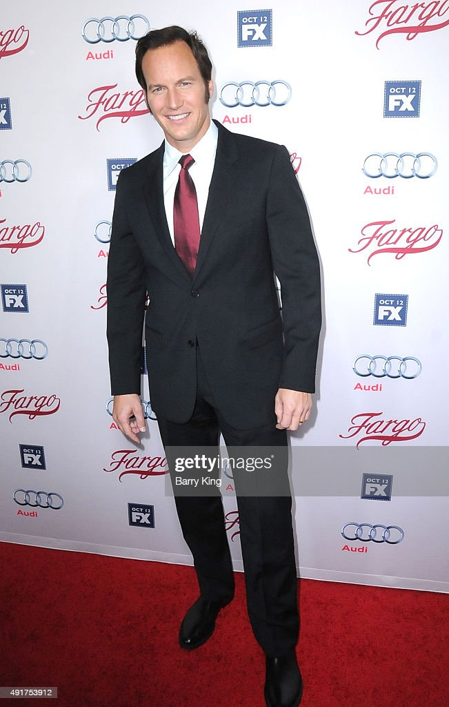 Actor <a gi-track='captionPersonalityLinkClicked' href=/galleries/search?phrase=Patrick+Wilson+-+Attore&family=editorial&specificpeople=14726270 ng-click='$event.stopPropagation()'>Patrick Wilson</a> arrives at the Premiere Of FX's 'Fargo' season 2 at ArcLight Cinemas on October 7, 2015 in Hollywood, California.