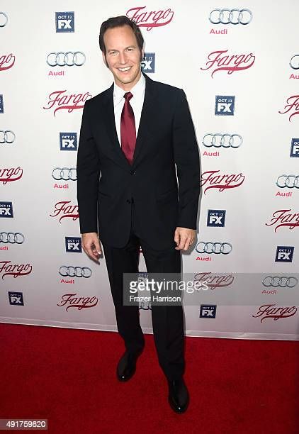 Actor Patrick Wilson arrives at the Premiere Of FX's 'Fargo' Season 2 at ArcLight Cinemas on October 7 2015 in Hollywood California