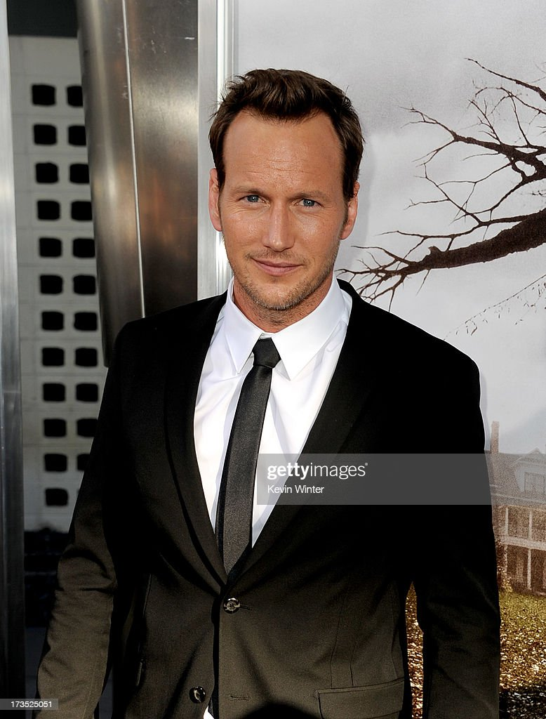 Actor <a gi-track='captionPersonalityLinkClicked' href=/galleries/search?phrase=Patrick+Wilson+-+Acteur&family=editorial&specificpeople=14726270 ng-click='$event.stopPropagation()'>Patrick Wilson</a> arrives at the premiere of Warner Bros. 'The Conjuring' at the Cinerama Dome on July 15, 2013 in Los Angeles, California.