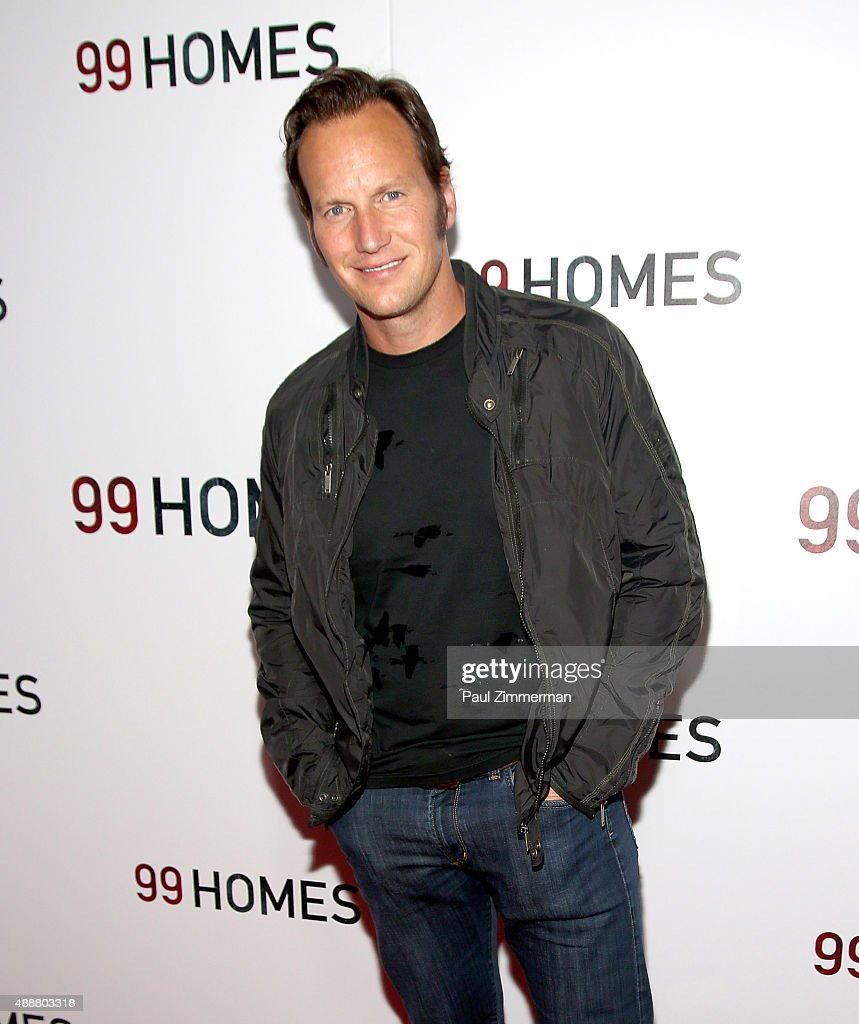 Actor <a gi-track='captionPersonalityLinkClicked' href=/galleries/search?phrase=Patrick+Wilson+-+Acteur&family=editorial&specificpeople=14726270 ng-click='$event.stopPropagation()'>Patrick Wilson</a> attends '99 Homes' New York City screening at AMC Loews Lincoln Square on September 17, 2015 in New York City.