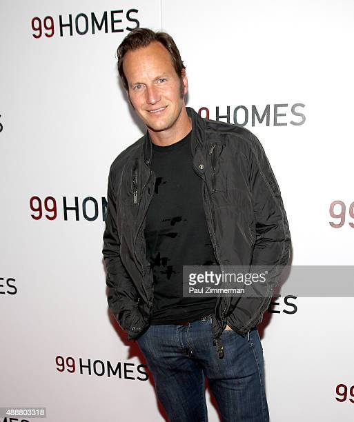 Actor Patrick Wilson attends '99 Homes' New York City screening at AMC Loews Lincoln Square on September 17 2015 in New York City