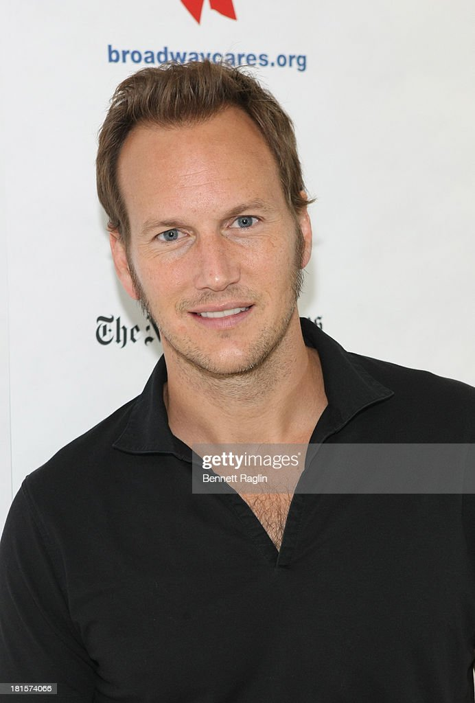 Actor <a gi-track='captionPersonalityLinkClicked' href=/galleries/search?phrase=Patrick+Wilson+-+Acteur&family=editorial&specificpeople=14726270 ng-click='$event.stopPropagation()'>Patrick Wilson</a> attends the 27th annual Broadway Flea Market & Grand Auction at Marquis Theatre on September 22, 2013 in New York City.