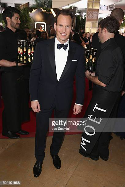Actor Patrick Wilson attends the 73rd Annual Golden Globe Awards held at the Beverly Hilton Hotel on January 10 2016 in Beverly Hills California