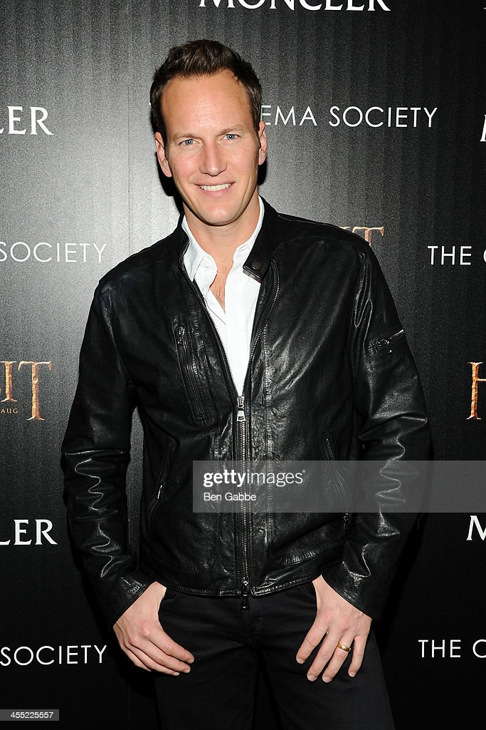 Actor <a gi-track='captionPersonalityLinkClicked' href=/galleries/search?phrase=Patrick+Wilson+-+Actor&family=editorial&specificpeople=14726270 ng-click='$event.stopPropagation()'>Patrick Wilson</a> attends The Cinema Society & Moncler host a screening of New Line Cinema & MGM Pictures' 'The Hobbit: The Desolation of Smaug' at Time Warner Screening Room on December 11, 2013 in New York City.