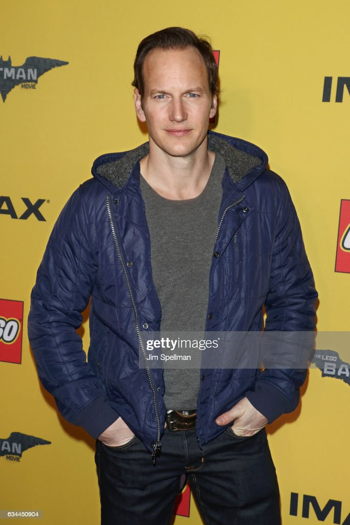 Actor Patrick Wilson attends 'The Lego Batman Movie' New York screening at AMC Loews Lincoln Square 13 on February 9, 2017 in New York City.