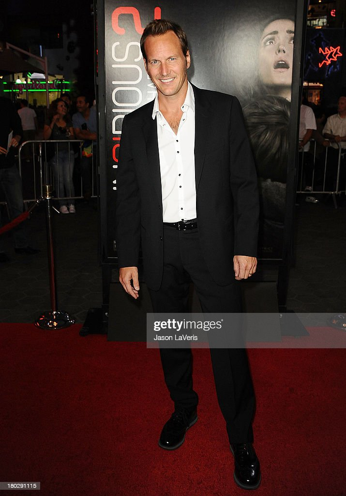 Actor <a gi-track='captionPersonalityLinkClicked' href=/galleries/search?phrase=Patrick+Wilson+-+Actor&family=editorial&specificpeople=14726270 ng-click='$event.stopPropagation()'>Patrick Wilson</a> attends the premiere 'Insidious: Chapter 2' at Universal CityWalk on September 10, 2013 in Universal City, California.