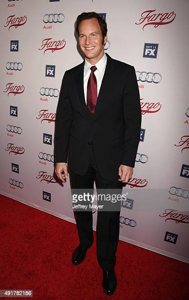 Actor Patrick Wilson attends the premiere of FX's 'Fargo' Season 2 held at ArcLight Cinemas on October 7 2015 in Hollywood California