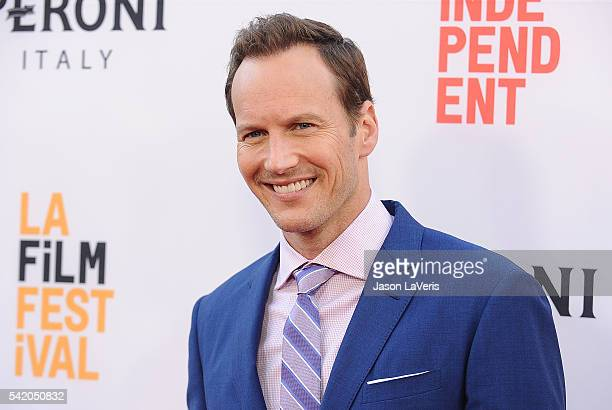 Actor Patrick Wilson attends the premiere of 'The Conjuring 2' at the 2016 Los Angeles Film Festival at TCL Chinese Theatre IMAX on June 7 2016 in...