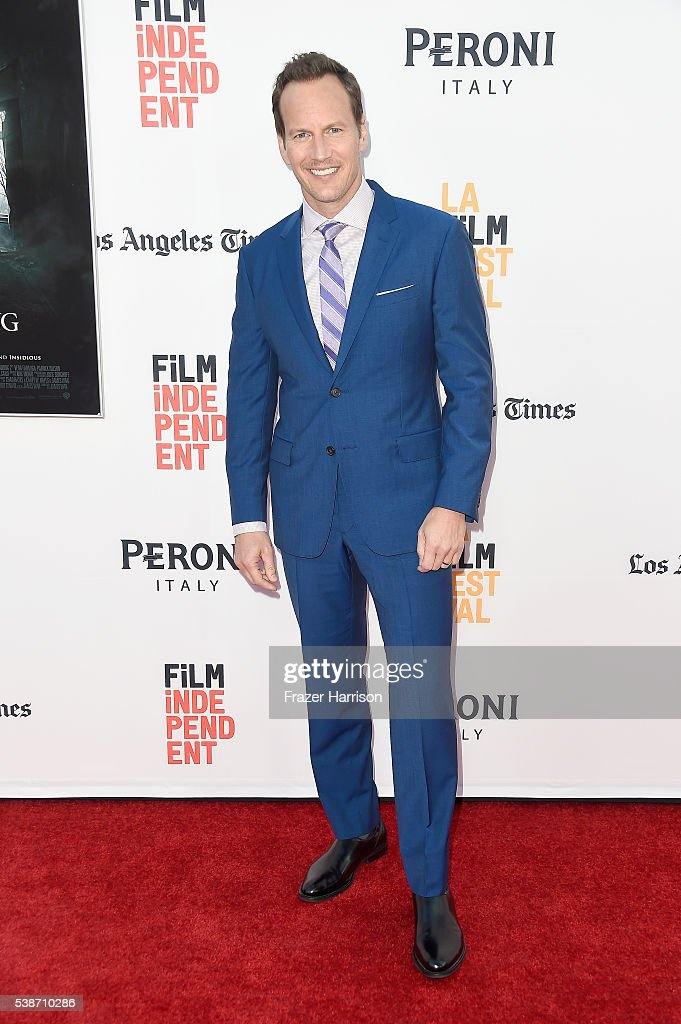 Actor <a gi-track='captionPersonalityLinkClicked' href=/galleries/search?phrase=Patrick+Wilson+-+Actor&family=editorial&specificpeople=14726270 ng-click='$event.stopPropagation()'>Patrick Wilson</a> attends the premiere of 'The Conjuring 2' during the 2016 Los Angeles Film Festival at TCL Chinese Theatre IMAX on June 7, 2016 in Hollywood, California.