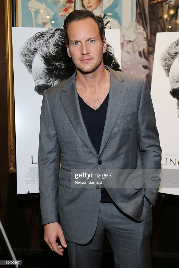 Actor Patrick Wilson attends the special screening of Steven Spielberg's Lincoln at the Ziegfeld Theatre on November 14, 2012 in New York City.