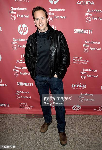 Actor Patrick Wilson attends the 'Zipper' premiere during the 2015 Sundance Film Festival on January 27 2015 in Park City Utah